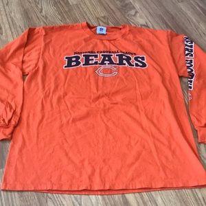 NFL Chicago Bears Long Sleeve Tee Shirt Size L